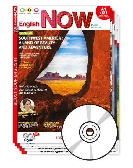 1 an : English Now avec le CD audio