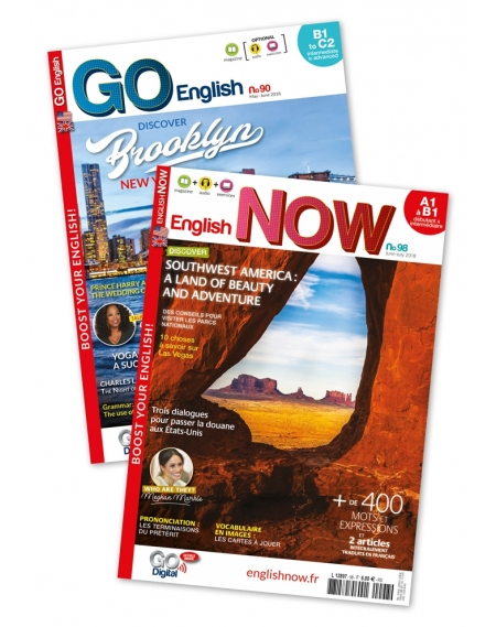 1 an : Go English + English Now