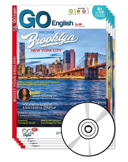 2 ans : Go English + CD audio