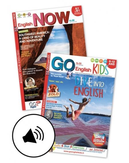 2 ans English Now + Go English Kids