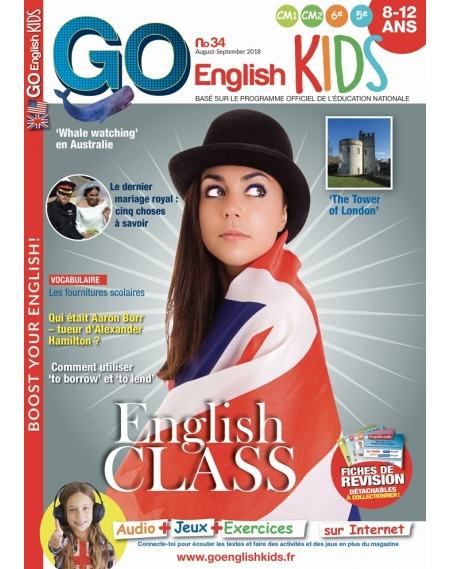 Go English Kids N°34