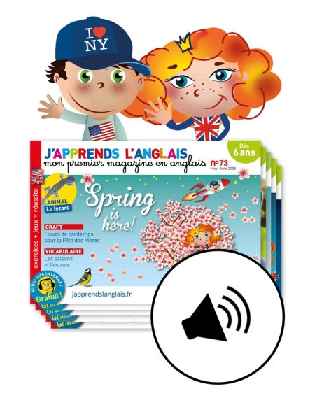 2 years: J'Apprends l'anglais + audio