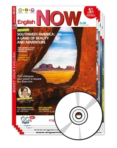 2 ans : English Now + CD audio