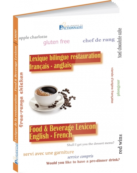 Bilingual glossary in French & English: Food
