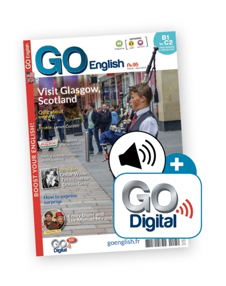 1 an : Go English + audio téléchargeable + Go Digital