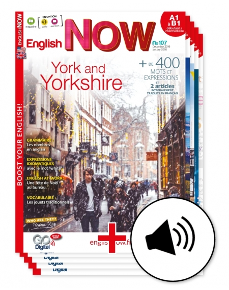 1 year: English Now+ downloadable audio