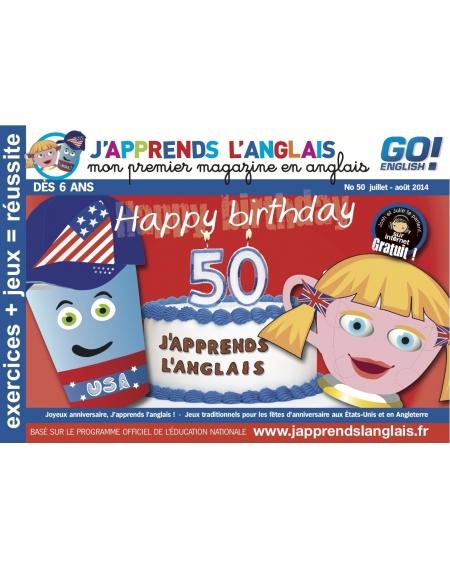 J'Apprends l'anglais N°50