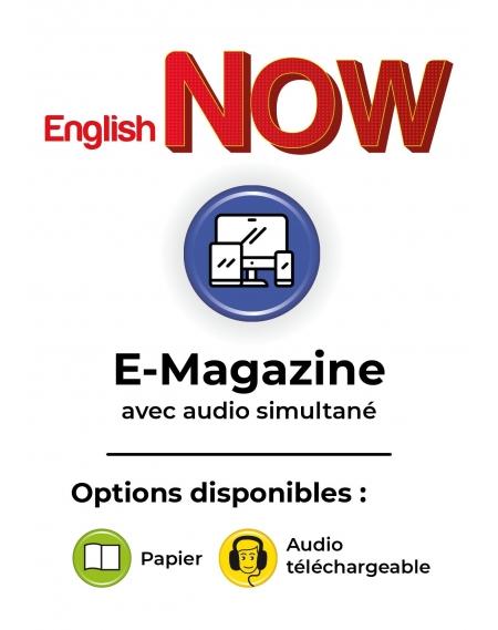 Abonnement E-English Now numérique