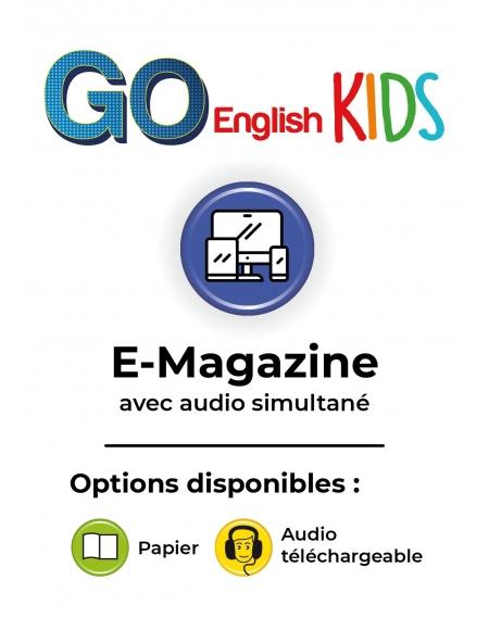 Abonnement  E-Go English Kids numérique