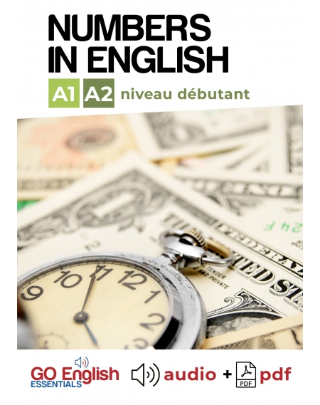 Numbers in English - Downloadable