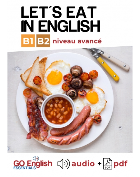 Let's eat in English - Downloadable