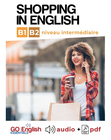 Shopping in English - Téléchargeable