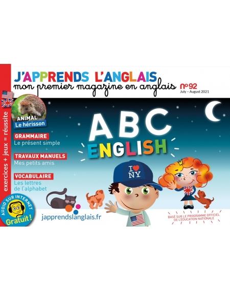 J'apprends l'anglais n°92