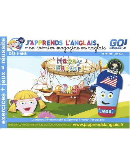 J'apprends l'anglais n°49
