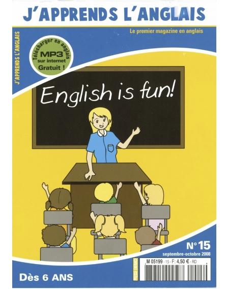 J'apprends l'anglais n°15