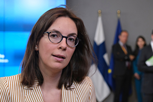 French minister for European affairs, Am