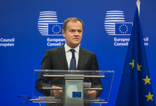 President of European Counci Donald Tusk