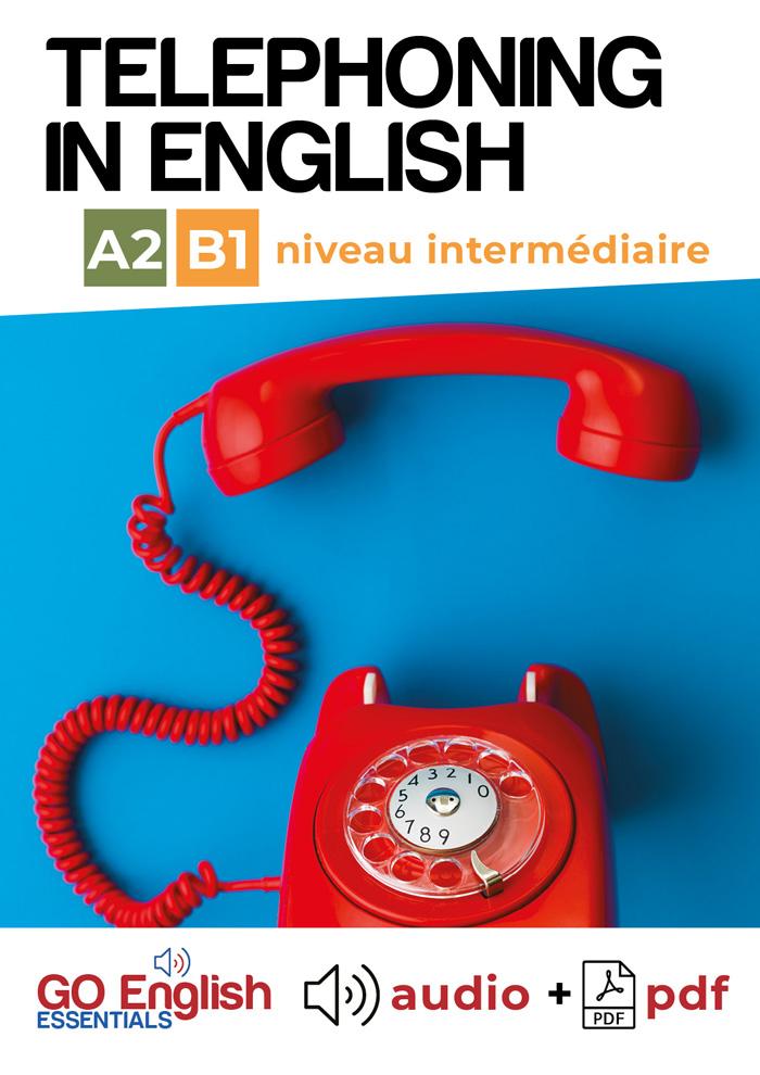 image Telephoning in English