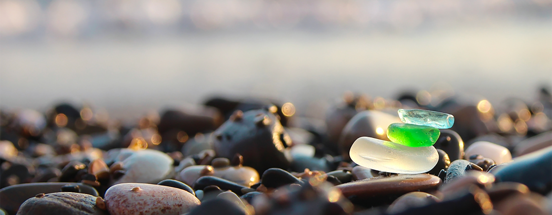 Treasures from trash – sea glass