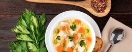 Chicken soup – a real cure