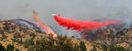 California is in Flames, Santa Ana Winds to Blame